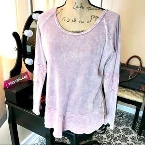 Freeloader Sweatshirt Women's Medium Pink Top